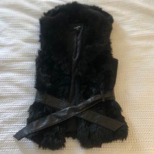 BEBE Faux Fur Vest